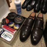 大掃除開始!靴磨きは年末大掃除の基本